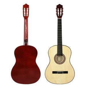 Caliente Nuevo Principiantes Madera Dura Natural Guitarra