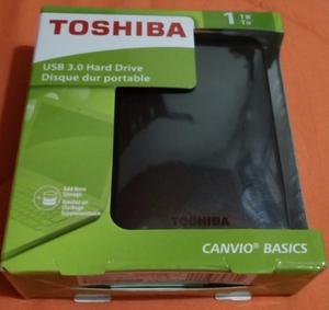 Disco Duro Externo Toshiba Usb 3.0 Canvio Basic 1tb