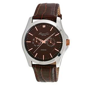 Kenneth Cole  Reloj Genuino De Plata De Ley
