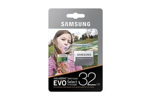 Memoria Micro 32gb Samsung Evo 95mb/s Gopro 4k Fhd -