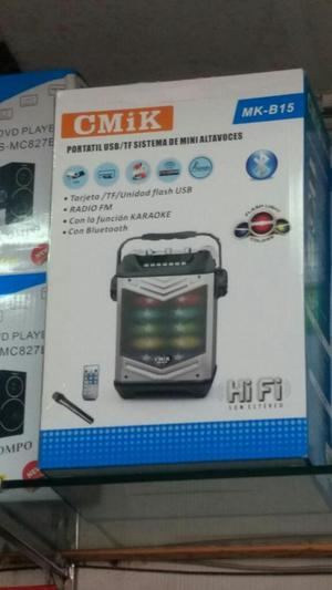 Parlante Recargable Bluetooth Micrófono