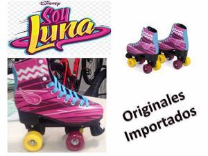Patines 4 Ruedas Soy Luna Originales!! (t 32 A La 38)