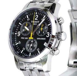 Reloj Hombre Tissot Prc 200 T Nuevo + Manilla Oro