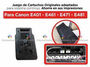 Juego Cartuchos Canon Pg44 Y Cl54 Con Orificio Para Sistema