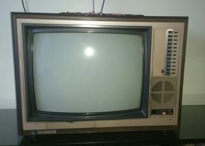 Televisor Shimasu Antiguo.