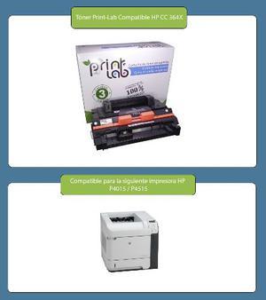 Toner Print-lab Compatible Con Hp 64x Cc364x