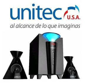 Unitec Parlante Mini Componente Bluetooth 2.1 U-sp-108c
