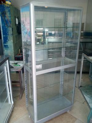 Vitrina Aluminio Lateral