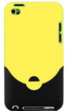 Caja De Corredera De Caucho Amarillo Para Apple Ipod Touch