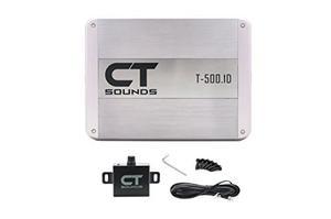Ct Sonidos T Monoblock Amplificador De Coche 500w Amp