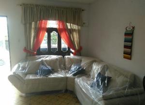 Hermosa Sala en Tela de Lino