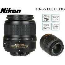 Lente Original  VR Nikon
