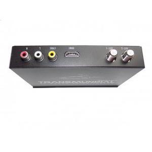 Tv Tuner Decodificador Para Carro Tdt-2 Transmundial Negro