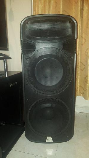 cabina de sonido profesional parlantes de 15 pulgadas con