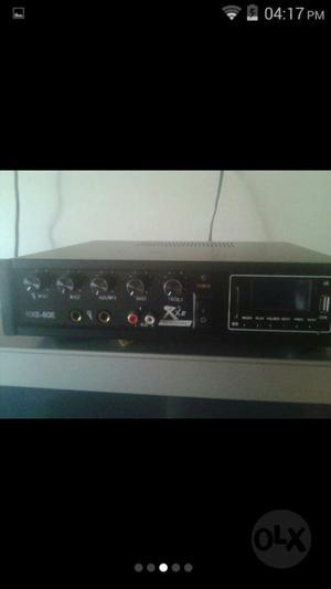 Amplificador Mas Microfono