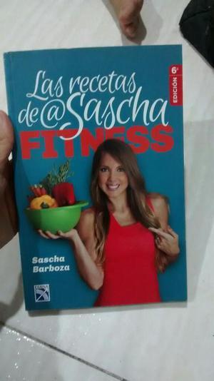 Libro Las Recetas de Saschas Fitness