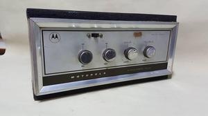 RADIO AMPLIFICADOR ANTIGUO DE TUBOS MOTOROLA FUNCIONAL
