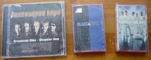 Vendo 1 CD y 2 Cassettes de los Backstreet Boys