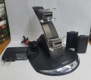 Base Cargador De Controles Xbox 360 Energizer Original