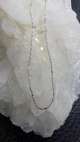 Cadena Para Mujer En Oro Blanco De 18k Ref: