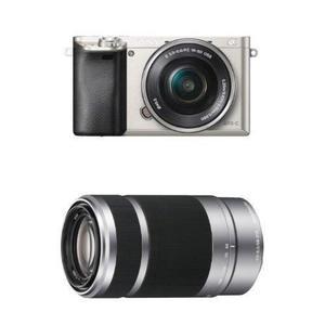 Camara Combo Sony Alpha A Plata Oferta 768