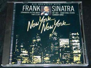 Cd Frank Sinatra New York New York