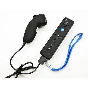 Combo Control + Nunchuck Wii Negro