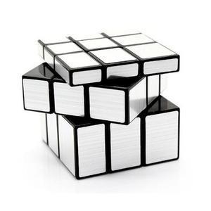 Cubo Mirror 3x3 Plateado Y Dorado Gold Silver