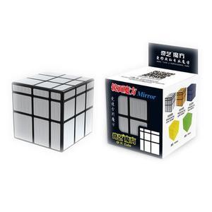 Cubo Rubik Mirror Carbono Qiyi 3x3 Speedcube - Plateado