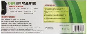 Gen Adaptador De Ca Cable De Alimentación Para Xbox 360