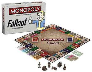 Monopoly: Fallout Collector's Edition Juego De Mesa