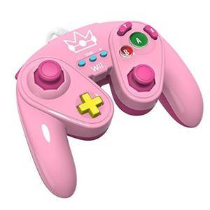 Pdp Wired Fight Pad Para Wii U - Peach
