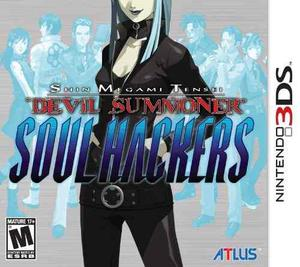 Shin Megami Tensei Devil Summoner Soul Hackers - Nintendo 3
