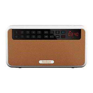 Radio Rolton E500 Portátil Con Bluetooth Fm Usb Amarillo