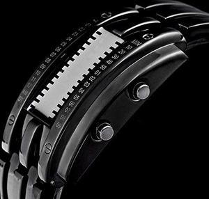 Reloj Impermeable Digital Led Azul Para Hombre
