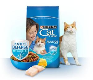 Cat Chow Gatos Adultos Pescado 8 Kg
