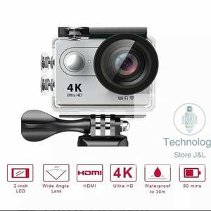 Cámara Tipo Go Pro, Action Cámara 4k Ultra Hd Wifi,