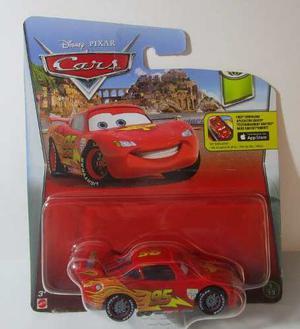 Disney Pixar Cars Mcqueen Rayo Mc Queen Escala Coleccion 7cm