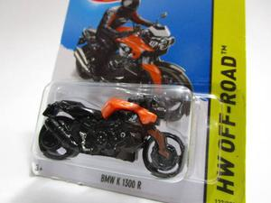 Moto Bmw K  R Escala 7cm Coleccion Hot Wheels Ta