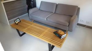 Sofá y banca de madera marca TuGó
