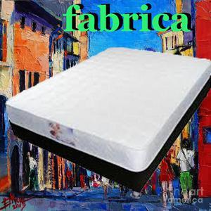 Super oferta cama base y colchón somos fabrica