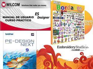 Wilcom E1.5+pe Design 9+megapack  Bordados+curso Wilcom