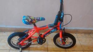 Bicicleta Pequeña Niños con Ruedas Aux.