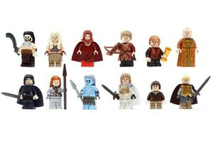 Figuras Tipo Lego Game Of Thrones