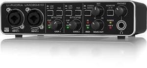 Interface Graba A 192 Khz Con Behringer Umc204 Hd