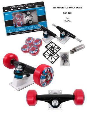 Kit De Repuestos Para Tabla De Skate Envio Gratis