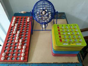 Kit Juego de Bingo Fino con 25 Tablas
