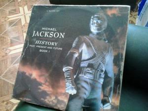 Michael Jackson History 3 Vinilos Lps