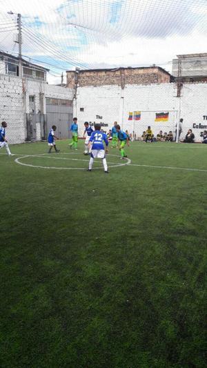 Vendo Cancha Sintética Futbol 5 Negociab