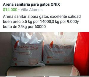 Arena Sanitaria para Gatos Onix